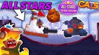 ALL-STARS IS BACK! FUN BUILDS & BEST BATTLES - C.A.T.S: Crash Arena Turbo Stars