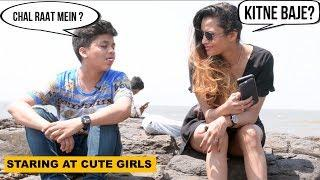 Staring At CUTE GIRLS With Love Prank | Pranks In India | The Japes