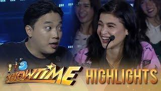 It's Showtime PUROKatatawanan: Anne laughs at Ryan's joke