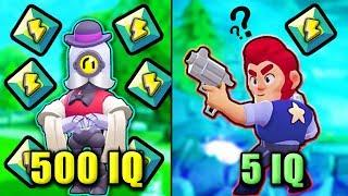 500 IQ vs 5 IQ..!! - NEW Brawl Stars Funny Moments, Glitches & Fails #5 | Brawl Stars Montage