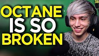 Diegosaurs First Reaction To Playing Octane, He's OP - Apex Legends Funny Moments 38