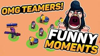 BEST Brawl Stars Funny Moments, Glitches & Fails Montage. Brawl momets