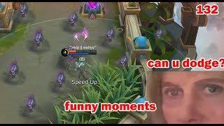 Mobile Legends Funny Moments Episode 132 | Lucu |  OMG  300 IQ Genius Plays Moments |