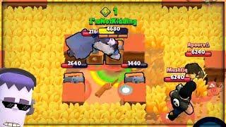 FRANK IN THE MIDDLE CHALLENGE! 5 KILLS IN A ROW! :: Brawl Stars Funny Moments