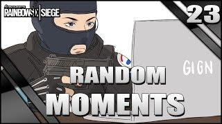 REACCIONANDO A FUNNY MOMENTS #23 | Burnt Horizon | Caramelo Rainbow Six Siege Gameplay Español