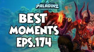 Paladins BEST & FUNNY MOMENTS EPS.174