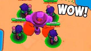 ROBOT VS ROSA! ¿QUIÉN GANARÁ? Brawl Stars Funny Moments & Glitches #4