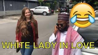 WHITE LADY IN LOVE (COMEDY SKIT) (FUNNY VIDEOS) - Latest 2018 Nigerian Comedy| Comedy Skits| Comedy