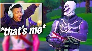 Myth Reacts to Him in Fortnite Season 6 Trailer   Fortnite Funny Moments 2
