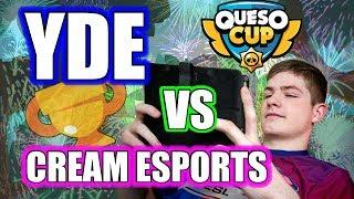 Brawl Stars Competitive Gameplay! Queso Cup! Team Yde vs Cream Esports! / Brawl Stars