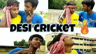 Desi cricket ||Bengali funny cricket video ||kistran ani