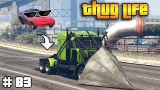GTA 5 ONLINE : THUG LIFE AND FUNNY MOMENTS (WINS, STUNTS AND FAILS #83)
