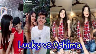 Lucky Dancer vs Ashima choudhary New most famous tik tok musically star video| Musically funny world