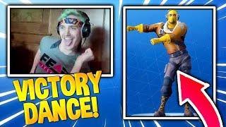 NINJA DANCE REACTION! Fortnite Funny Daily Moments