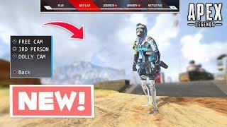 NEW *REPLAY* MODE IN APEX LEGENDS!?.. Apex Legends WTF & Funny Moments
