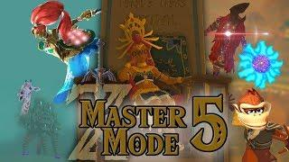 Link VS Yiga Master Dong! BotW Master Mode Funny Moments PART 5!!
