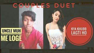 duet couple video. Love - funny - song - bollywood- Vines. musically Video.. dialogue...