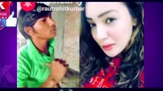 Cute Girl's Funny Duet With Rohit Kumar (Gutka Bhai)  #musically stars #