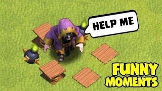 Clash of Clans Funny Moments Trolls Compilation #33 | COC Montage