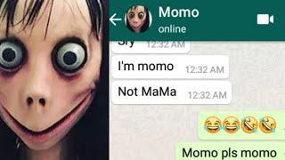 Funny Chat With Momo | Mokka Chat Da 4 | Momo | Mokka joke da | Chat with momo | momo enters India|