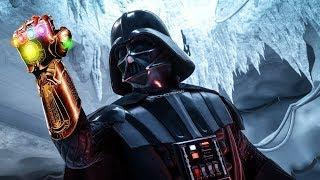 Star Wars Battlefront 2 - Funny Moments #15 Avengers Infinity War