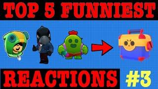 Top 5 Funniest Reactions For Getting Legendary Brawlers In Brawl Stars #3