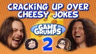 Arin & Dan Crack Each Other Up With Cheesy Jokes - PART 2 - Game Grumps Compilation