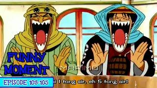 Momen Paling Lucu One Piece  Episode 103-105 (One Piece Funny Moment Sub Indo HD)