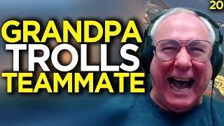 66 YO Grandpa Trolls Teammate - Apex Legends Funny Moments 20