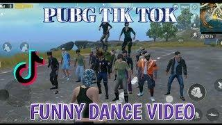 PUBG TIK TOK FUNNY DANCE  ( NO 32) AND FUNNY MOMENTS ||  BY PUBG FUN