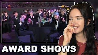 BTS Funny Moments At Seoul Music Awards Reaction // itsgeorginaokay