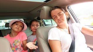 Elif Öykü, Masal and Papa Sleeping Pretend play for kids video, Funny Kids