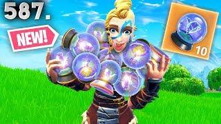*NEW* ITEM IS CRAZY!! Fortnite Funny WTF Fails and Daily Best Moments Ep.587