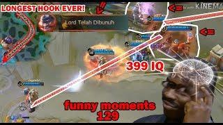 Mobile Legends Funny Moments Episode 129 | Lucu |  OMG  300 IQ Genius Plays Moments |