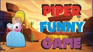 PARTIDA DIVERTIDA CON PIPER | PIPER FUNNY GAME | BRAWL STARS
