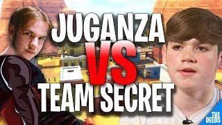 Atlantis Juganza VS Secret Mongraal & Secret Domentos | Fortnite Funny Moments 1