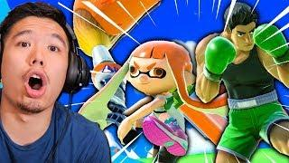 Reacting to Smash Ultimate Fails & Funny Moments