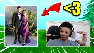 MYTH REVEALS TRUE LOVE! PROM DATE! Fortnite Op & Funny Moments