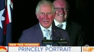 Prince Charles Jokes About Australians Giving Meghan and Harry Baby Names Advice (2018)