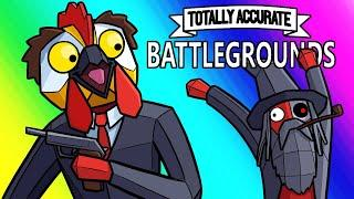 Totally Accurate Battlegrounds Funny Moments - Wibbly Wobbly Win!