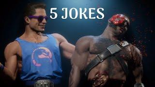 MORTAL KOMBAT 11 - Johnny Cage All Jokes Puppeeter (DIFFERENT EVERY TIME)