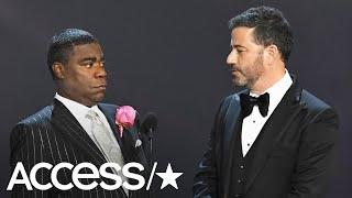 Tracy Morgan Jokes About Only Rooting For Black People At The 2018 Emmys!