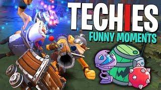 How Does Techies Get Away With This? - DotA 2 Funny Moments