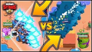 EXTREME FRANK VS EXTREME SPIKE! Brawl Stars Hacker Modder Funny Moments & Glitches