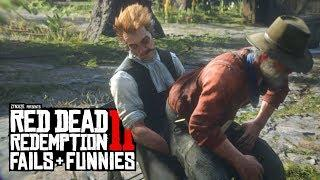 Red Dead Redemption 2 - Fails & Funnies #7 (Random & Funny Moments)