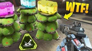 NEW JUMP PAD TRICK!! | Best Apex Legends Funny Moments and Gameplay - Ep.45