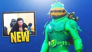 MYTH REACTS TO *NEW* FORTNITE MOISTY MERMAN SKIN! - Fortnite Funny Moments and Highlights #83