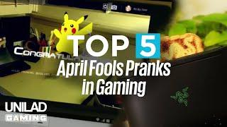 Top 5 April Fools Pranks in Gaming  | UNILAD Gaming