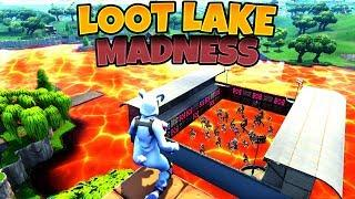 *LOOT LAKE MADNESS* - NEW Fortnite Funny Fails & WTF Moments 2018