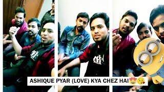 Noman Having Interview on Topic Aashiqui Pyar Love I Funny Interview Vlog 4 Mohsin Khan Vines